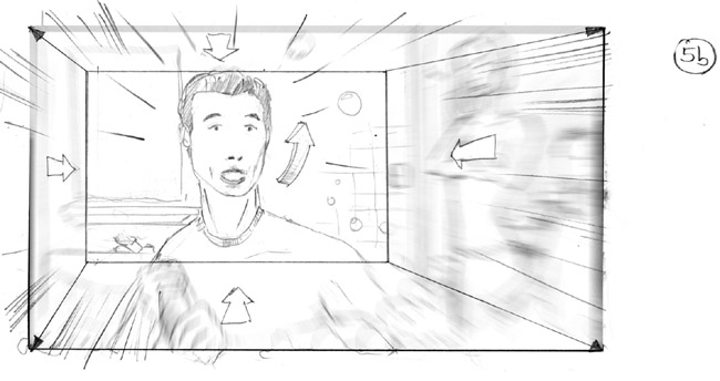 storyboard Neue Sentimental Film Ölz-TV-Spot