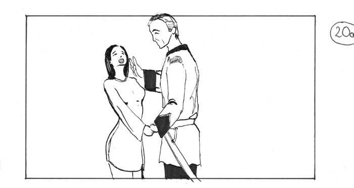 storyboard british soldier loves chinese girl