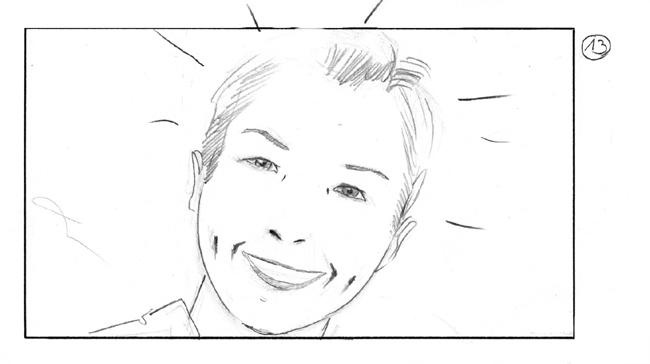 storyboard boy´s birthday