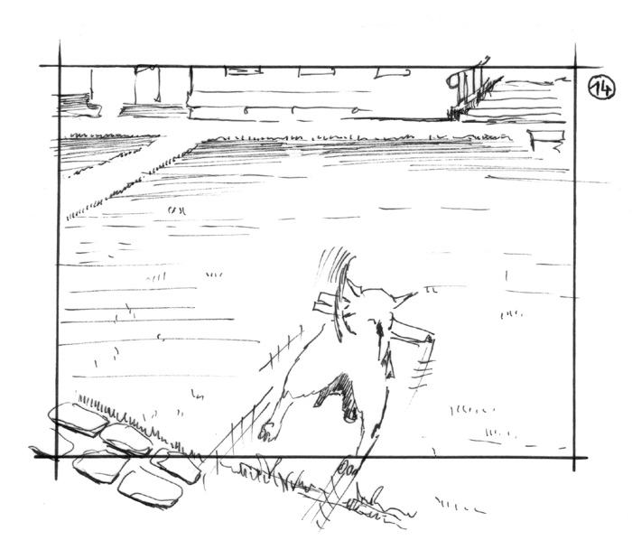 storyboard lotto sabotage films inked dog