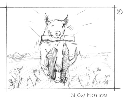 storyboard dog lotto sabotage films