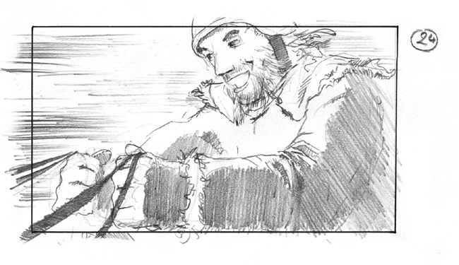 storyboard santa claus