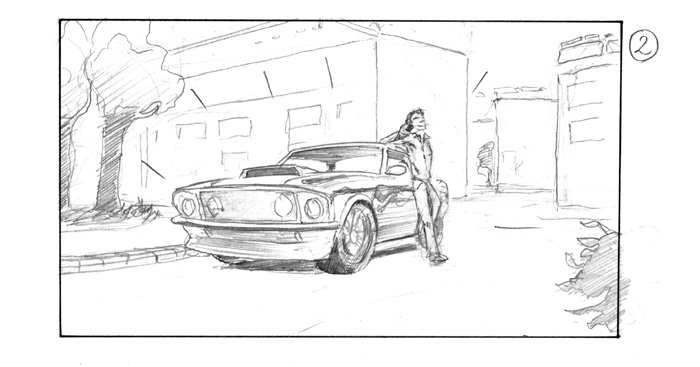 Storyboard Nivea for Men Neue Sentimental Film