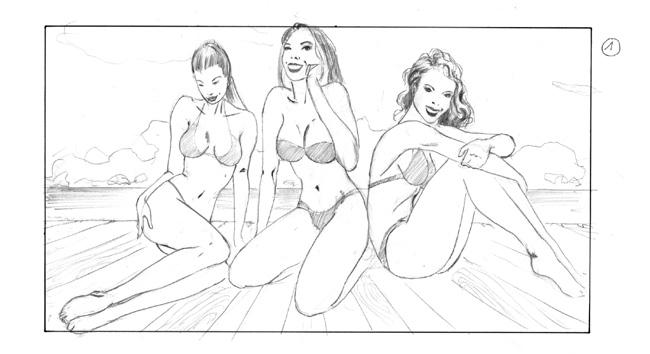 storyboard nivea girls