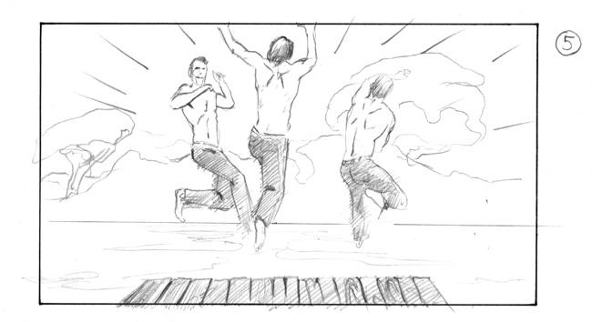 storyboard nivea boys
