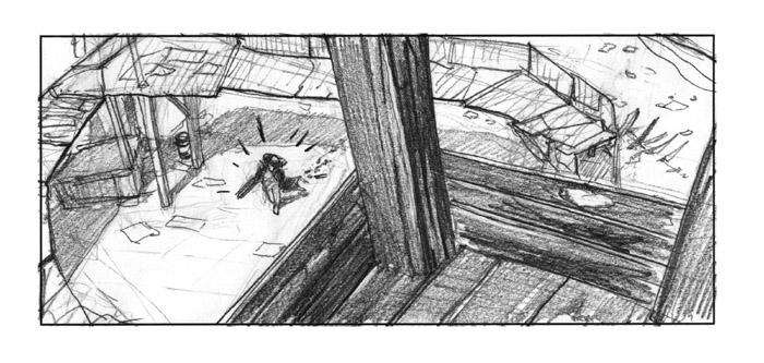 storyboard postapocalyptic story
