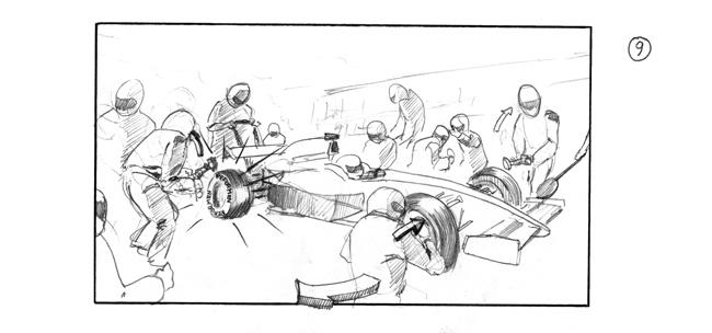 storyboiard frame by John Brito